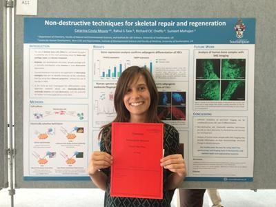 Poster Prize for Catarina Moura