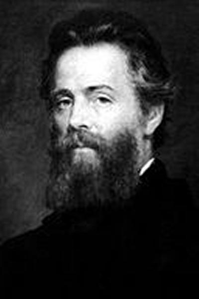 Herman Melville author of Moby Dick