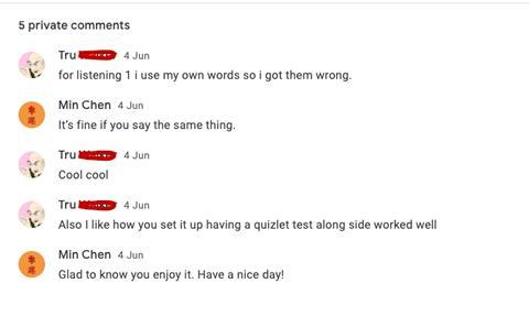 online Mandarin learning