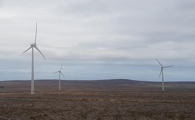 Caithness windfarm