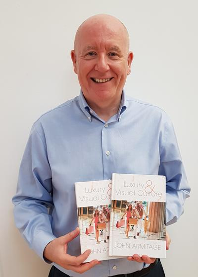 John Armitage with his new book