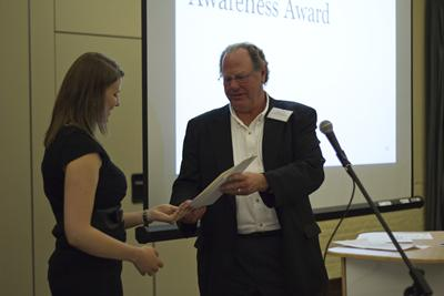 Eleanor stringer collecting award