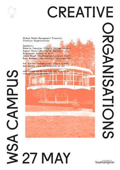 Creative Orgs Symposium poster
