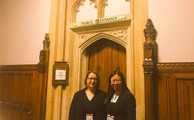 Emily Reid and Jenny Zhang