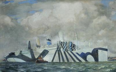 War Paint, SS Aquitania, 1919.