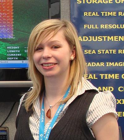 Award winner, Helen Miller