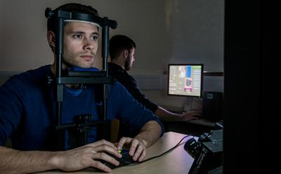 Tracking eye movements