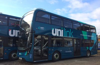 Image of Unilink buses