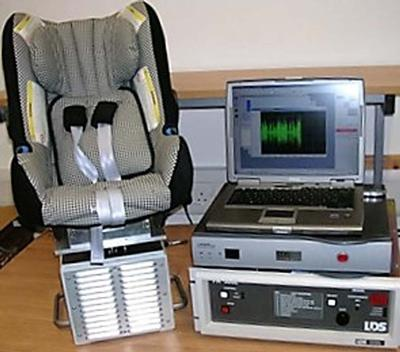 Baby seat testing