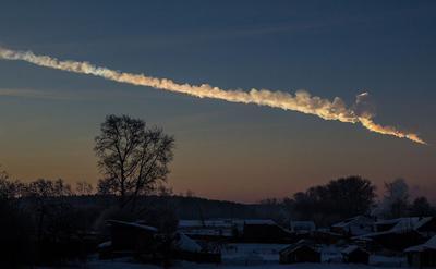 previous meteor strike