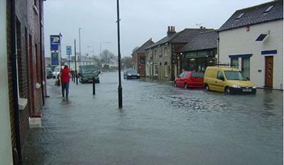 Flooding risk