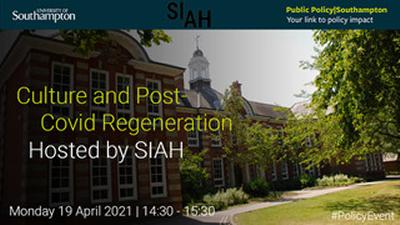 Culture and Post-Covid Regeneration