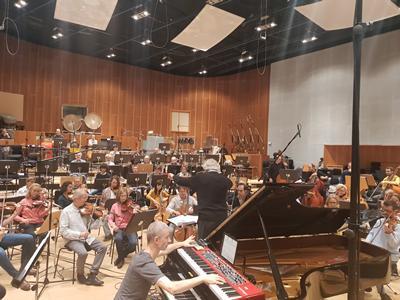rehearsals in Stuttgart
