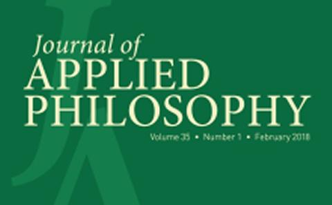 Journal of Applied Philosophy