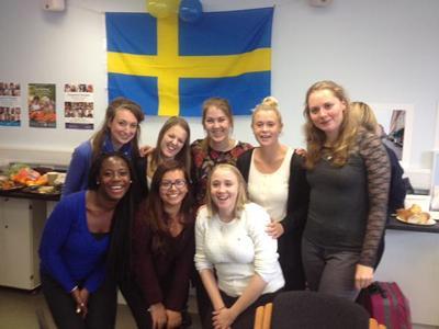 Lund exchange students 2015