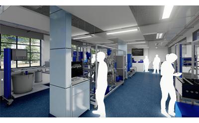 new Chemical Engineering laboratory