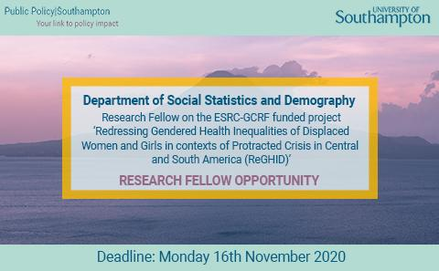 Research Fellow Opportunity