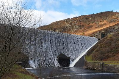 Caban Coch Dam,Elan Valley. Wales