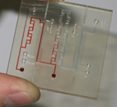 Marine sensor chip