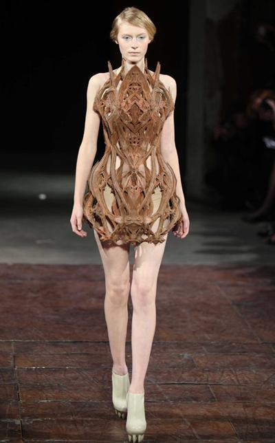 Woman in a Luxury Dress