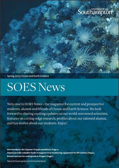SOES News spring/summer 2013