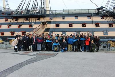 Fulbright scholars visit Portsmouth