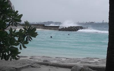 Picture of Maldives sea defences