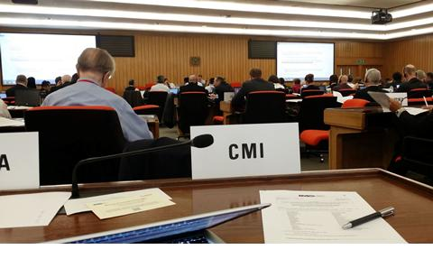 Robert Veal attends IMO Meeting
