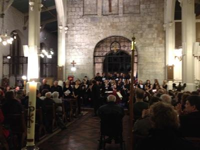 The concert in St Michael's Church