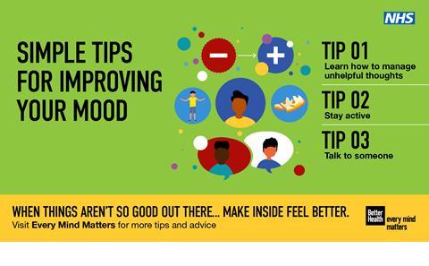 Every Mind Matters - improve mood
