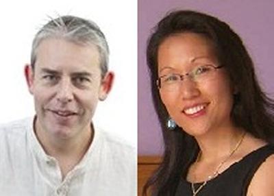 Andy Pulman and Sunhea Choi
