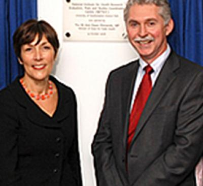 Dawn Primarolo MP, with Professor