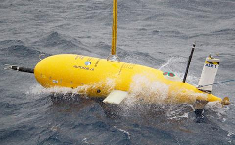 Boaty McBoatface being deployed