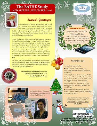 Parents Winter Newsletter 2016