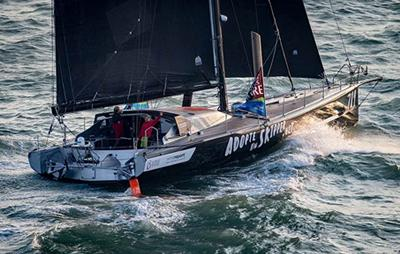 Round-the-World racing yacht
