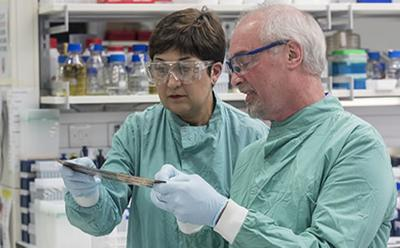 Copper destroys MRSA at a touch | University of Southampton