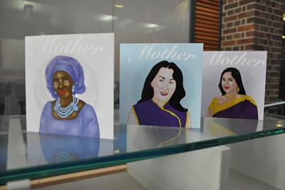 Mother's Day cards by Avila Chidume