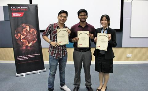 Winners of the SOfE event