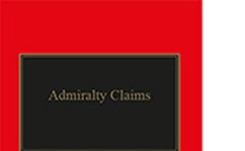 Admirality Claims book cover