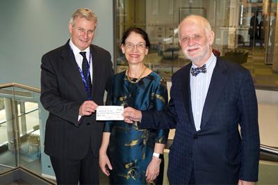 Arun Cancer Trust donation