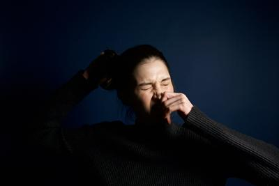 Image of sneezing