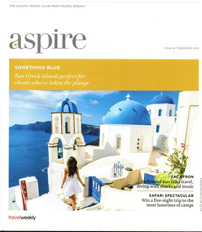 Aspire magazine cover