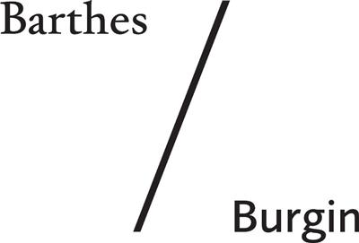 Barthes / Burgin logo