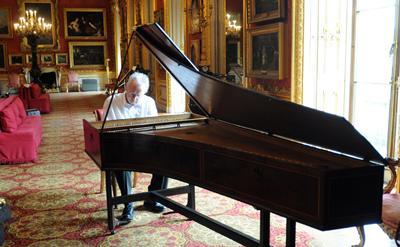 Pianist David Owen Norris