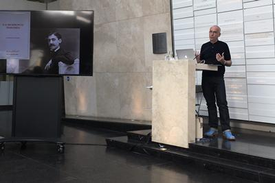 Jonathan Faiers gave a keynote