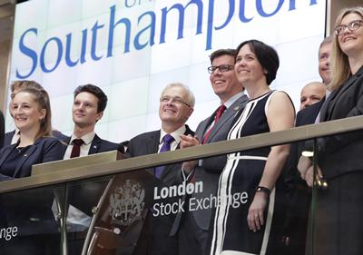 University opens trading at LSE