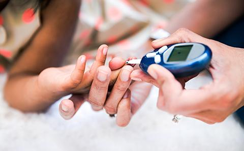 Checking diabetes