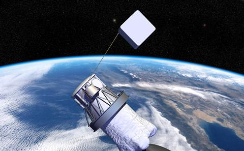 Stock image of satellite