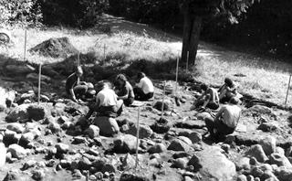 Excavations in Madi, 1966. (Archaeological archive at the Institute of History, University of Tallinn)