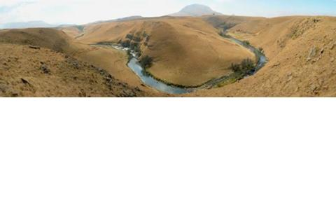 The Mooi River gorge, South Africa